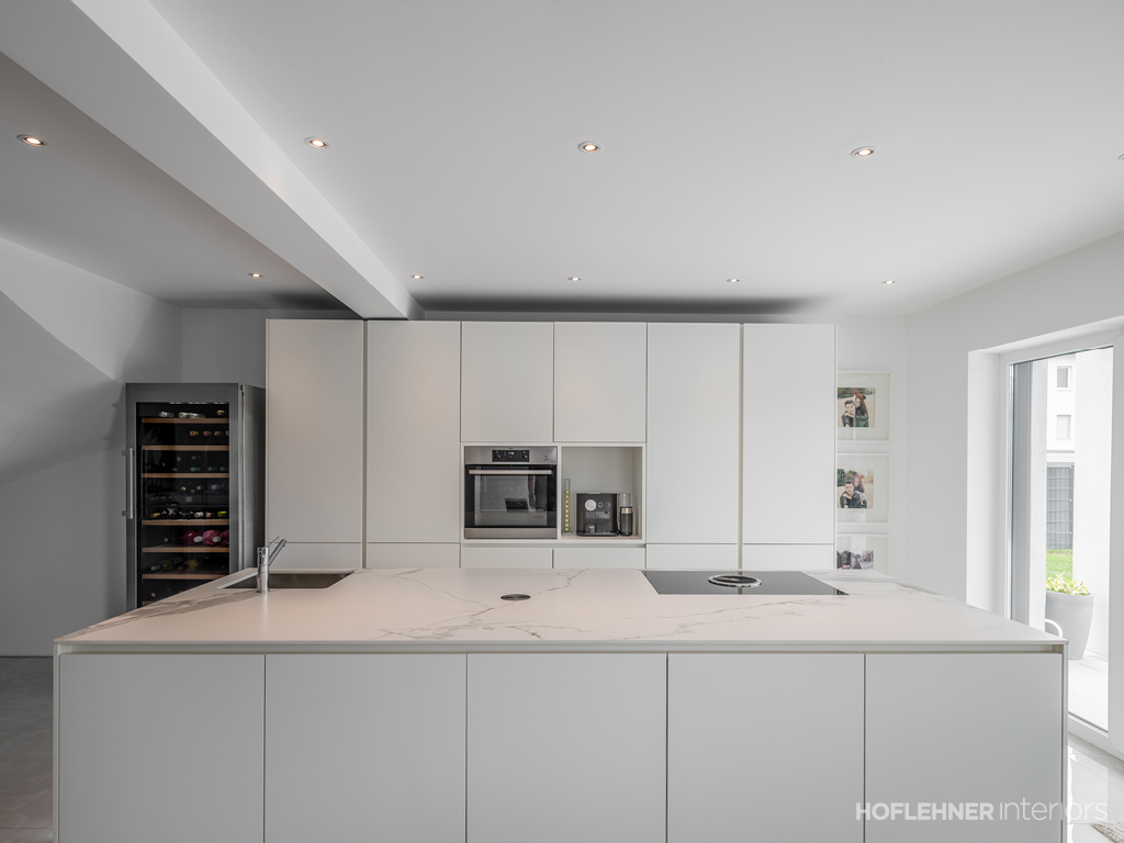 Einfamilienhaus in pasching hoflehner interiors for Hoflehner interiors