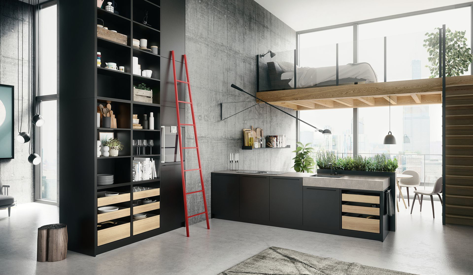 kuechentrend-siematic-industrial